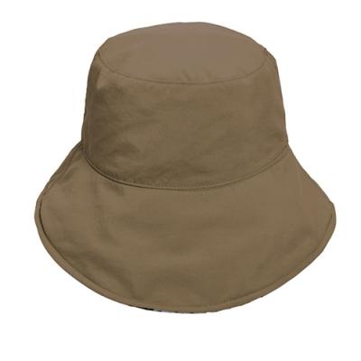 荒野【wildland】中性抗UV雙面漁夫帽卡其色