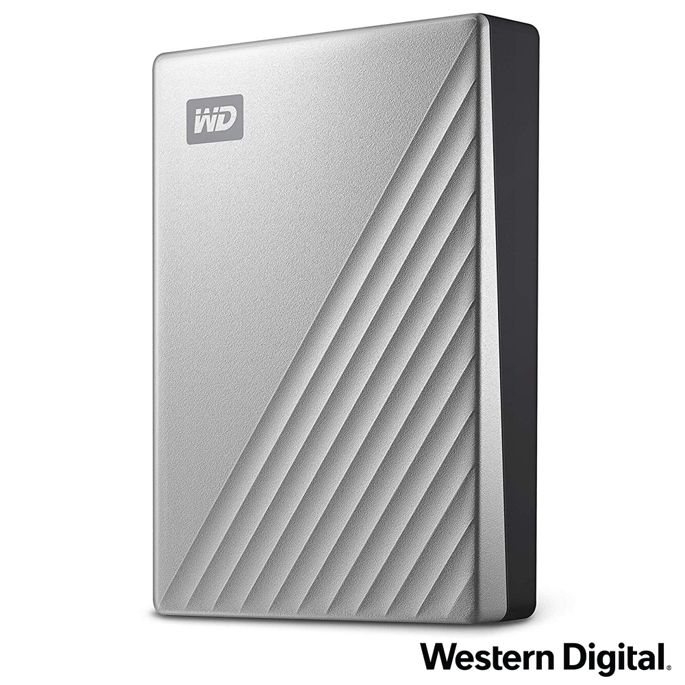 WD My Passport Ultra 4TB(炫光銀) 2.5吋USB-C行動硬碟