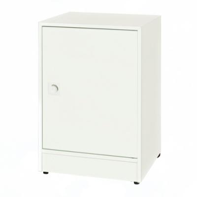 文創集 安倍 環保1.5尺南亞塑鋼單門置物櫃/收納櫃-43.5x40x63.4cm免組