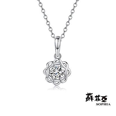 蘇菲亞SOPHIA - 小雛菊 0.10克拉鑽石項鍊