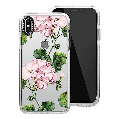 Casetify iPhone XS Max 耐衝擊保護殼-天竺葵