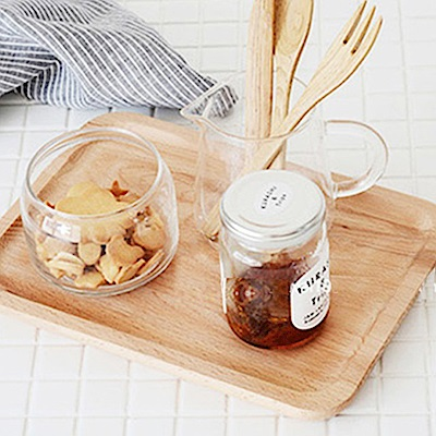 Homely Zakka 木趣食光木質方型大托盤 (大長方34*22)