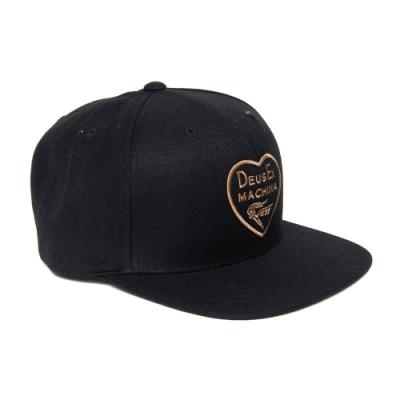 Deus Ex Machina Heart Baseball Cap 棒球帽 - 黑