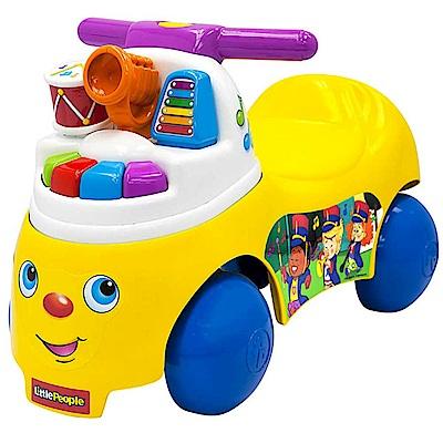 美國 Fisher Price 費雪 little people-歡樂音樂家騎乘玩具
