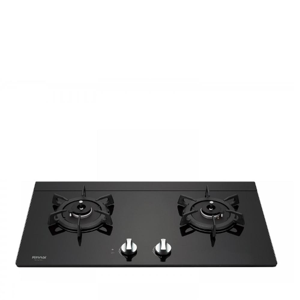 (全省安裝)林內感溫二口爐檯面爐感溫爐瓦斯爐桶裝瓦斯RB-Q230G(B)_LPG