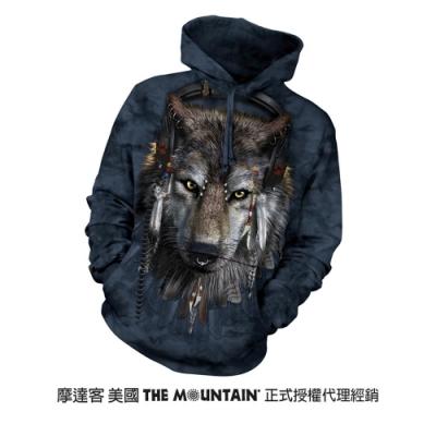 摩達客 美國進口The Mountain DJ狼 長袖連帽T恤