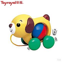 【任選】日本《樂雅 Toyroyal》手拉小狗