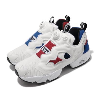 Reebok 休閒鞋 InstaPump Fury 運動 男女鞋 經典款 充氣科技 鴛鴦 情侶穿搭 白 紅 藍 FW4756