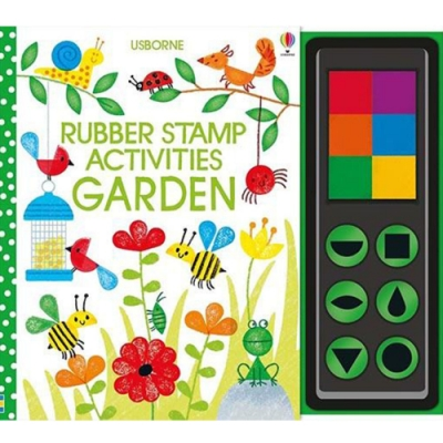 Rubber Stamp Activities Garden 印章玩樂遊戲書:花園篇