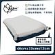 【Outdoorbase】3D舒壓自動充氣枕頭-月光白-22987 product thumbnail 1