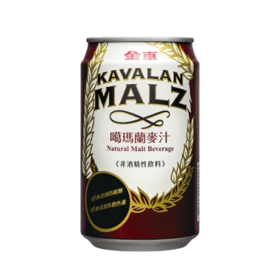 金車 噶瑪蘭麥汁易開罐(310mlx6罐)