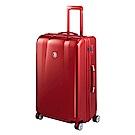 BENTLEY 28吋 PC+ABS 蜂巢纹拉鍊款輕量行李箱 -紅