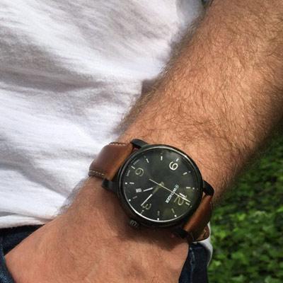 WENGER Urban 黑豹特遣 時尚腕錶(01.1041.129)41mm