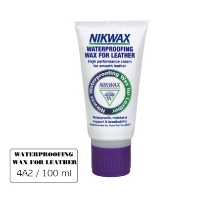 【NIKWAX】 擦式皮革撥水劑 4A2【100ml/乳狀】