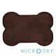 Microdry 舒適記憶綿造型浴墊【巧克力/ L】 product thumbnail 1