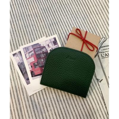 KINAZ 柔軟真皮萬用卡片夾-耶誕綠-糖果童話系列