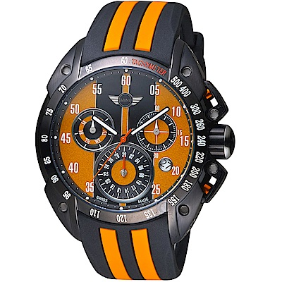 MINI Swiss Watches經典設計時尚腕錶(MINI-160102)-黃