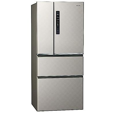Panasonic國際牌 610L 級變頻4門電冰箱NR-D610HV (北北基送安裝)