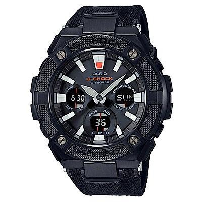 G-SHOCK高強度輕量化分層防護太陽能運動錶(GST-S130BC-1)黑52.4m