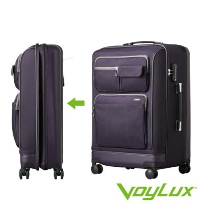 VoyLux 伯勒仕-Vantage系列26吋軟硬殼收摺行李箱-紫色3588617