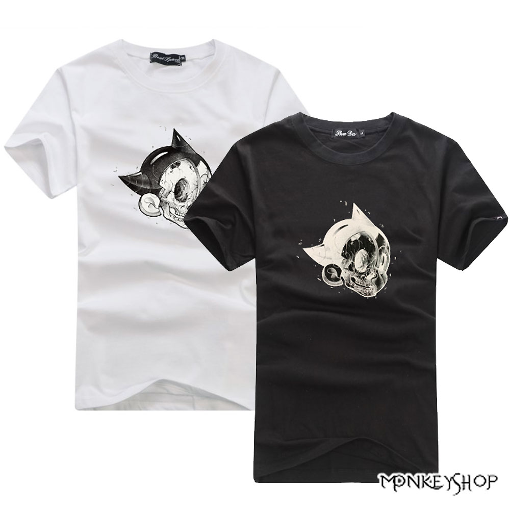 Monkey Shop MIT台灣製原子小金剛印花短袖T恤 -2色