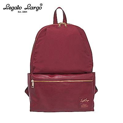Legato Largo 10口袋後背包-大-酒紅 LR-H1051WI