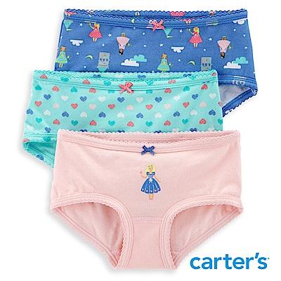 Carter's 童話城堡3件組三角褲