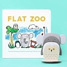 Flat Zoo 扁扁的動物園趣味硬頁書