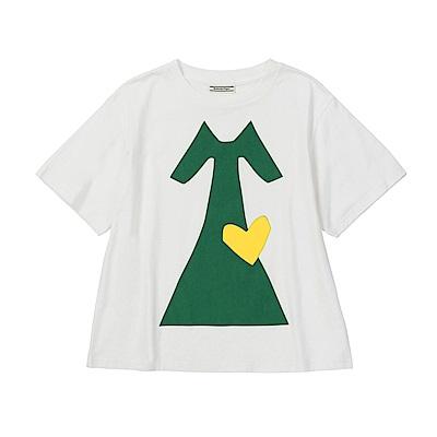 OT x Heart Project 聯名短袖上衣2182A232-100