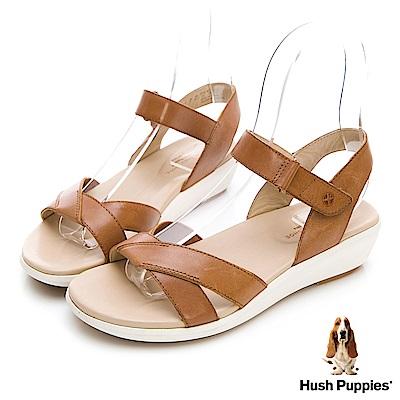 Hush Puppies LYRICALE 機能健走涼鞋-棕褐色