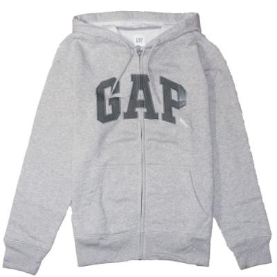 GAP 男生 連帽外套 灰 1439