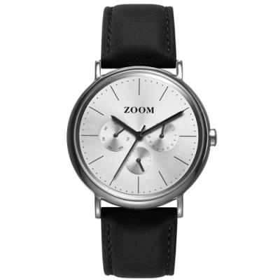 ZOOM Moment 美好時光設計錶 - 銀 / 40mm