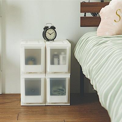 完美主義 衣物收納箱/隙縫櫃/塑膠櫃/抽屜櫃-4入