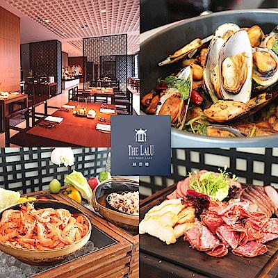 [團購]日月潭 涵碧樓東方餐廳1人自助下午餐吃到飽4張