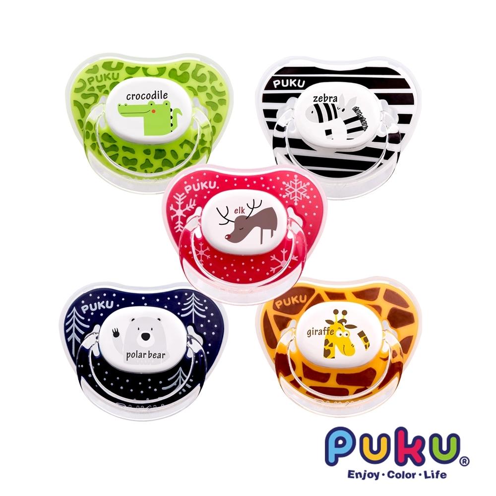 【PUKU】Animal安撫奶嘴2入-初生