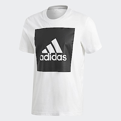 adidas Logo 短袖上衣 男 B47358