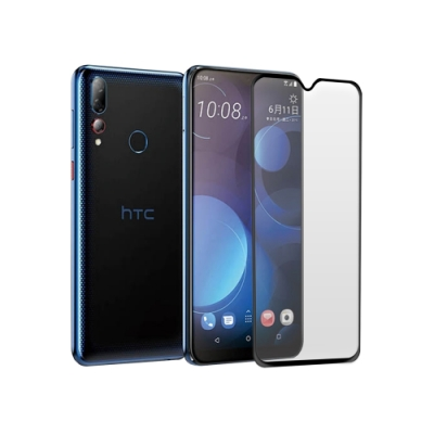 LUCCIDA HTC Desire 19+ 9H防爆玻璃貼【2.5D滿版】