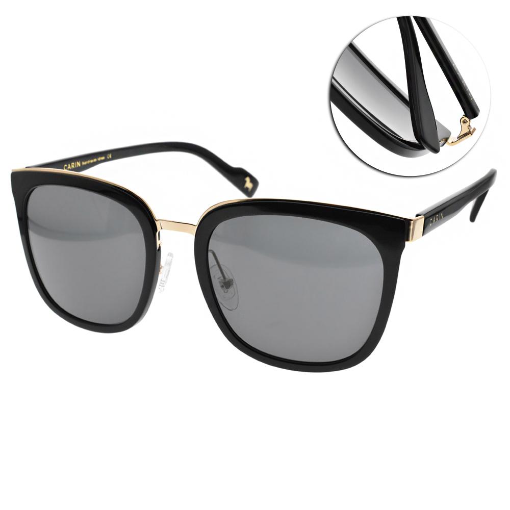 CARIN太陽眼鏡 秀智代言 修飾大框款/黑金 #KLADD MORE C1