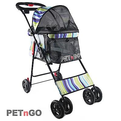 PETnGO 高景觀寵物推車-淺藍海洋