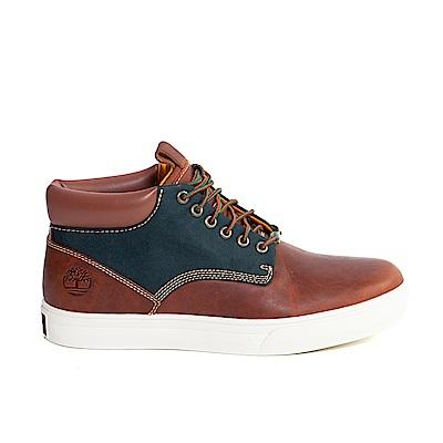 Timberland 男款咖啡色Sundance Gortex皮革休閒靴