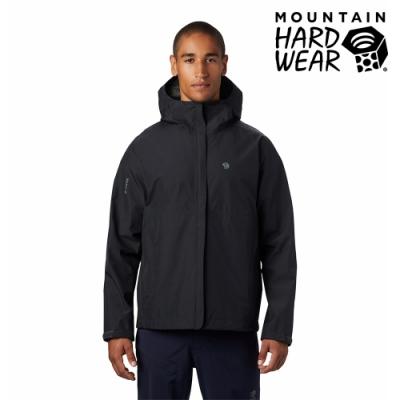 【美國 Mountain Hardwear】Exposure2 Gore-Tex Paclite Jacket GTX輕量防水連帽外套 男款 深風暴灰 #1882081