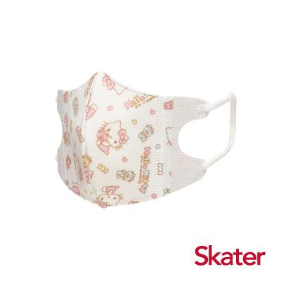 Skater幼兒立體口罩- Hello Kitty(5入/包)共6包