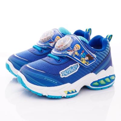 戰鬥陀螺童鞋 電燈運動鞋款 NI5616藍(中小童段)