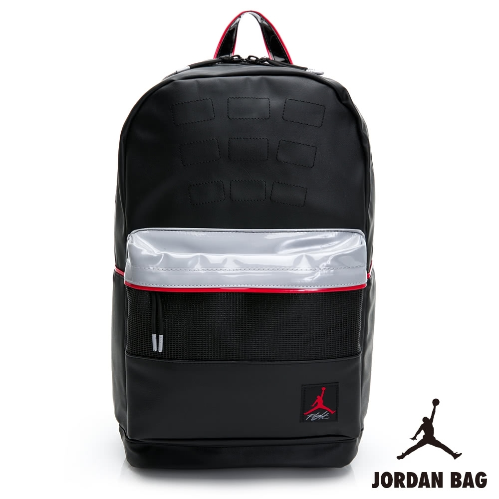 NIKE Air Jordan 4 BKPK 喬丹 男女款 雙肩包 後背包 運動 休閒 黑灰 9A0280-KG5