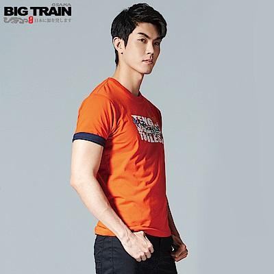 BigTrain 天狗神降潮流彈性T-男-桔紅