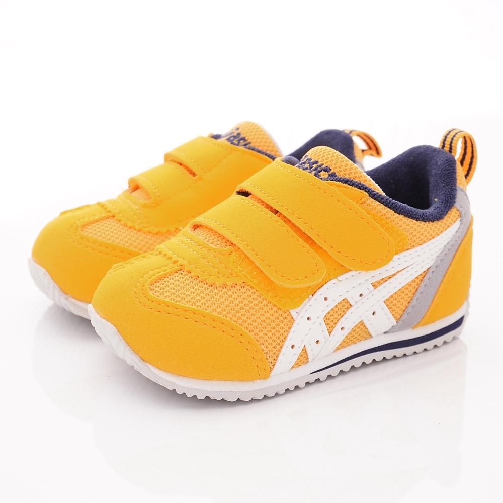亞瑟士SUKU2機能鞋 經典學步鞋 ONE65-800黃(寶寶段)