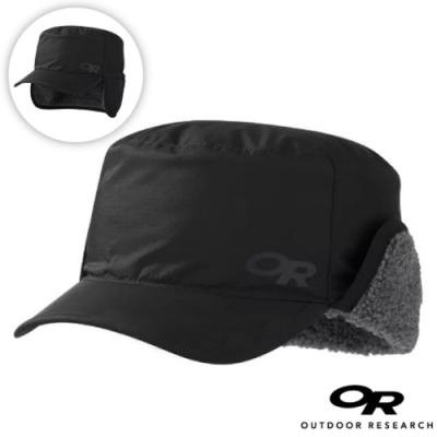 Outdoor Research 新款 WRIGLEY CAP 內刷毛保暖覆耳帽子/棒球帽(可遮耳)_黑