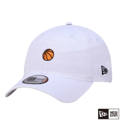 NEW ERA 9THIRTY 930 MINI LOGO 籃球 白 棒球帽