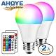 Ahoye 可遙控調色調光LED智慧燈泡10W-2入組 智慧照明 全彩燈泡 氣氛燈 小夜燈 product thumbnail 1