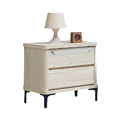 綠活居 馬波亞時尚1.8尺木紋床頭櫃/收納櫃-54x41x55cm免組